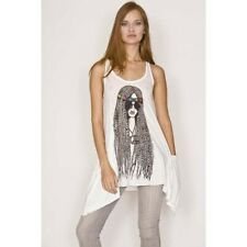 NWOT - LAUREN MOSHI Hippie Girl Graphic Swing Tank Dress (XS)
