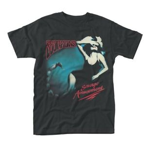 SCORPIONS- SAVAGE AMUSEMENT Official T Shirt Mens Licensed Merch New