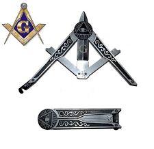 Free Mason Para Trooper Folding Pocket Knife - Masonic Gift - Fast Shipping! NEW