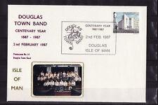 Ile de Man  enveloppe  Douglas Town Band  musique   1987
