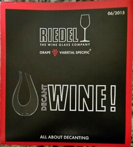Riedel Amadeo Carafe - Decanter 1756/13 New Open Box $499