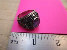 John Roberts 1973 Southern Connecticut University Class Ring, 10K White Gold,