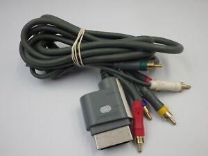 Câble MICROSOFT X-BOX 360 av composante numérique & composite audio/vidéo