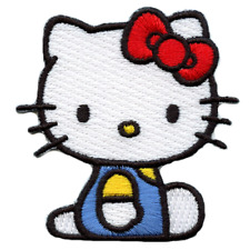 Hello Kitty Sitting Down Embroidered Patch