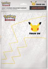 Pokémon 25th Anniversary Collectors Binder W/ Pikachu Jumbo Card