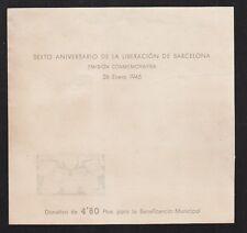 AYUNTAMIENTO DE BARCELONA.  EDIFIL NE31 (*)