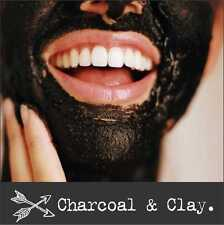 >>> Activated CHARCOAL FACE MASK + bentonite clay + Licorice root + more 50g