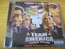 TEAM AMERICA WORLD  POLICE  O.S.T.  CD  SIGILLATO
