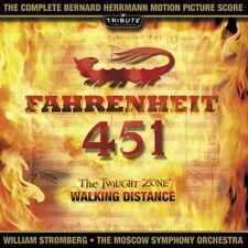 FAHRENHEIT 451 - COMPLETE SCORE - LIMITED EDITION - BERNARD HERRMANN