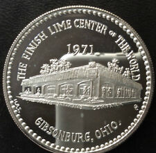 1971 Gibsonburg Ohio Centennial Celebration Silver Medal A3602