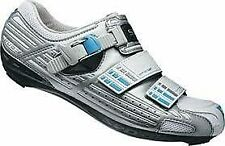 *NEW* Shimano R085 Womens Road Cycling Shoe, silver color, size 5.5