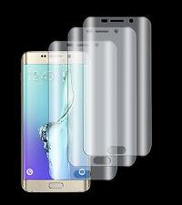3 x Panzerfolie Samsung Galaxy S6 Edge+ Plus 3D Komplett Rand TPU Schutz Folie