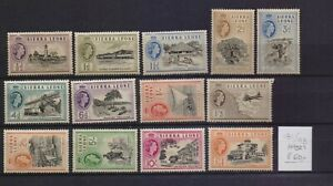 ! Sierra Leone 1955.   Stamp. YT#181/193. €60.00!