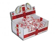WORLD CUP England Wrist Bands - England Flag/St George -Rubber Bands Great Value