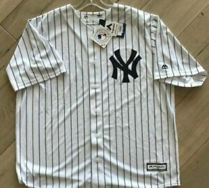 New York Yankees Authentic Jersey Mens Big & Tall Majestic size XL TALL BLANK