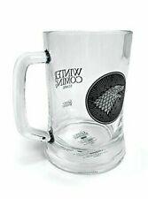 Game of Thrones Glass House Stark Glass Stein Beer Mug Gift