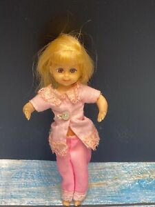 """1965 Chris Mattel Doll 6"""" Made in Japan Bendable Flexible Pose-able #3570"""