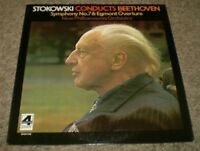 Stokowski Conducts Beethoven~1975 London Phase 4 Stereo Classical~FAST SHIPPING!