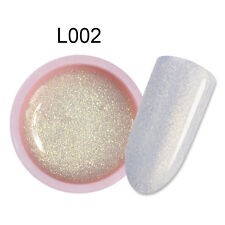 5ml Holographic Glitter UV Gel Nail Polish Soak Off Sparkly Color Coat Manicure