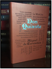 Don Quixote by Miguel de Cervantes New Textured Soft Leather Feel Collectible