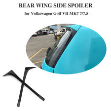 Auto Back Window Side Spoiler Wing for Volkswagen VW Golf 7 MK7 Standard 14-18