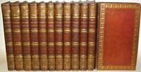 LEATHER Set;WORKS OF SAMUEL JOHNSON!Complete(INTRICATE FULL LEATHER!)1810! RARE!