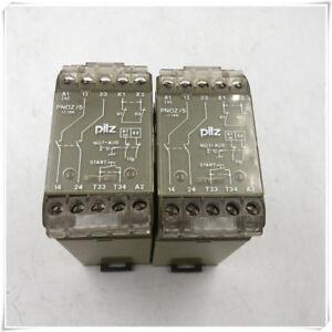 1PC USED PILZ PNOZ 5 474590 24VDC