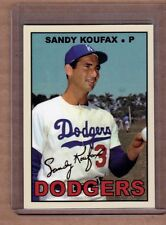 Sandy Koufax, Los Angeles Dodgers custom card by Bob Lemke 1967 style #612