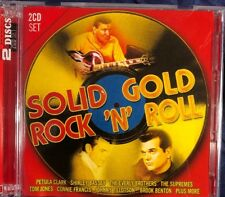 Various Artists: Solid Gold Rock 'N' Roll 2CD Album in VG Condition