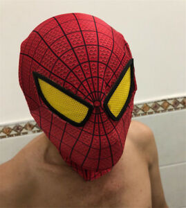 Amazing Spider-Man 2/1 Mask/Gloves/Web Shooter Halloween Cosplay Decorate Lot
