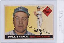 1955 Topps #210 Duke Snider EX--->A very nice HOFers card for you!