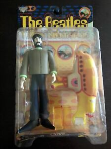 NEW Mcfarlane The Beatles George with Yellow Submarine Toys All We Need Is Love