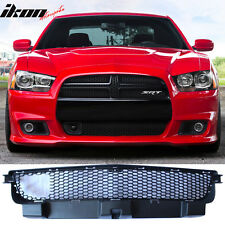 11-14 Dodge Charger SRT8 Front Lower Grille With Adaptive Cruise Control Black