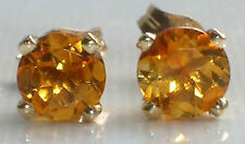 Citrine Not Enhanced Yellow Gold Fine Jewellery