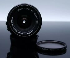 CANON LENS  New FD 28mm F2.8 NFD  [Excellent+++] FROM CANADA FAST SHIPPING