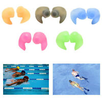 Silicone Ear Plugs - Adult - Hypo-allergenic Earplugs for Swimming/swimmer ft