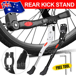 Bicycle Mountain Bike Adjustable Rear Kick Stand Prop Side Parking Support MTB