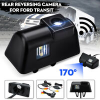 Wireless CCD Reversing Reverse Rear View Camera Set For Ford Transit & Connect