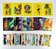 NINTENDO, LITTLE MERMAID, DISNEY LOT 5 Stickers & 27 Trading Cards '89-'91