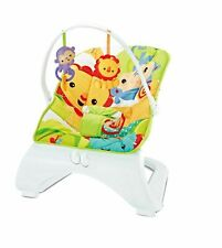 Baby Rocker elegante AMICI ANIMALI Bouncer Sedia con musica rilassante vibrazioni