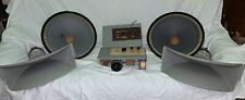 Exc! Vintage Kinap Lomo Speakers 25Gdn-4, Krossovers, Drivers With Horns 1A20