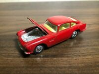 Corgi Toys 218 Aston Martin DB4 Saloon Red Good Condition Made in Great Britain