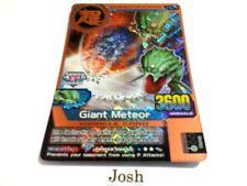 Animal Kaiser Evolution Evo Version Ver 1 Bronze Card (M081E: Giant Meteor)