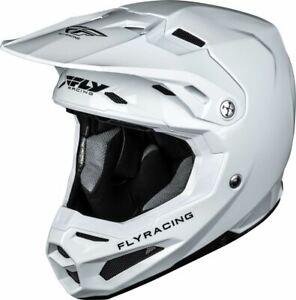 Fly Racing Formula Helmet White