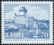 Estonia 1993 Hermann Castle/Building/Architecture/History/Heritage 1v (ee1086)