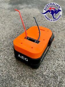 AEG 18v Battery DIY Adaptor/Base Plate, *Mel STOCK