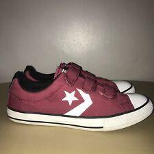 Converse Pumps Size 5 Burgundy Converse Skater Shoes
