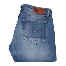 Vaqueros de mujer G-Star color principal azul 100% algodón