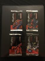 1993 SkyBox Marvel Universe Series 4 Card Set 1-180 & 4 Wrappers Wolverine Xmen