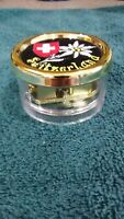 """Switzerland collectible music box in pristine condition. Plays """"Edelweiss""""...."""